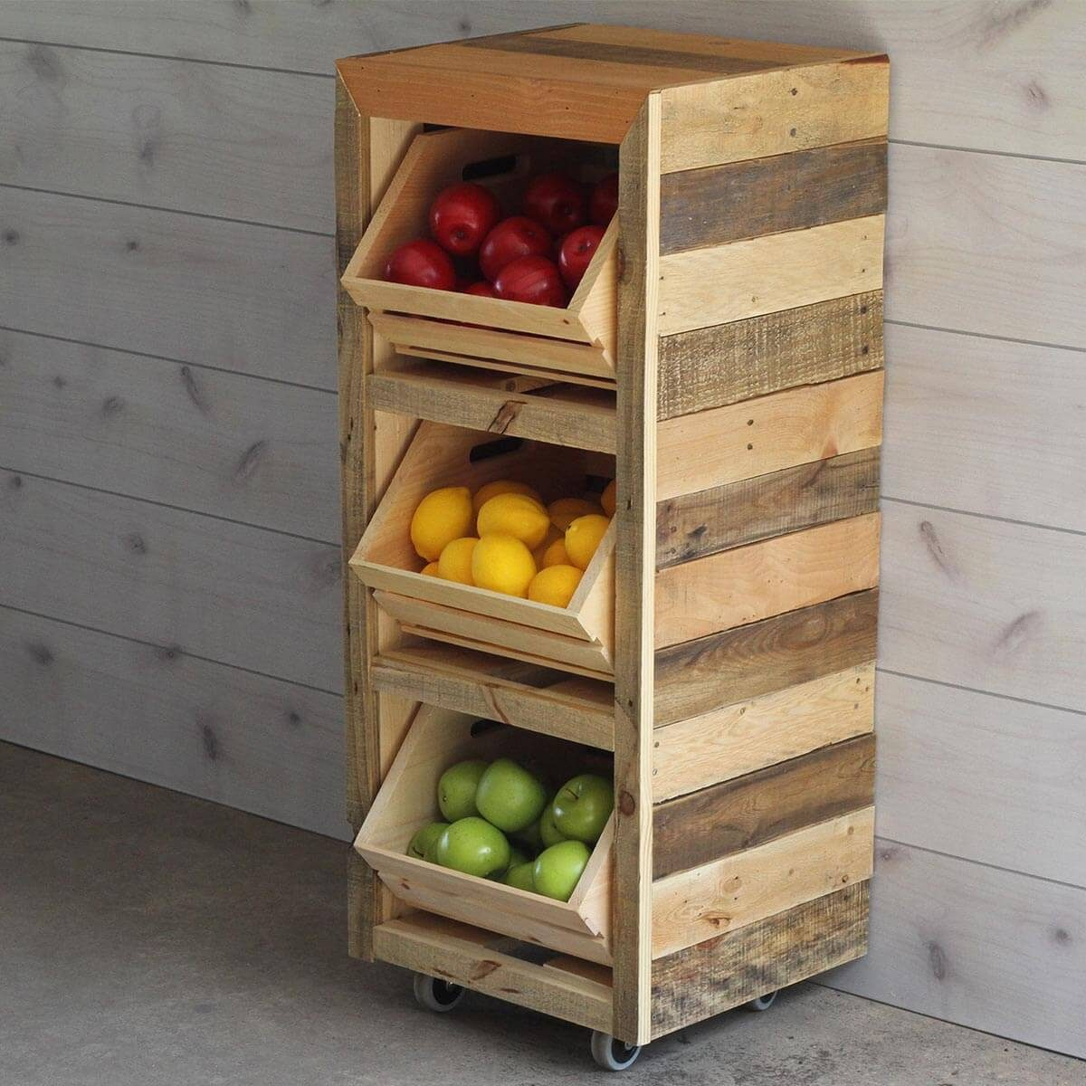 This Simple Project Will Keep Your Fruits And Veggies Corralled Yet Still  Easily Accessible.