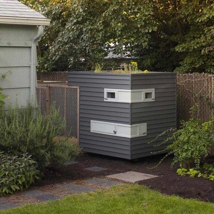 contemporary chicken coop modern chicken coop