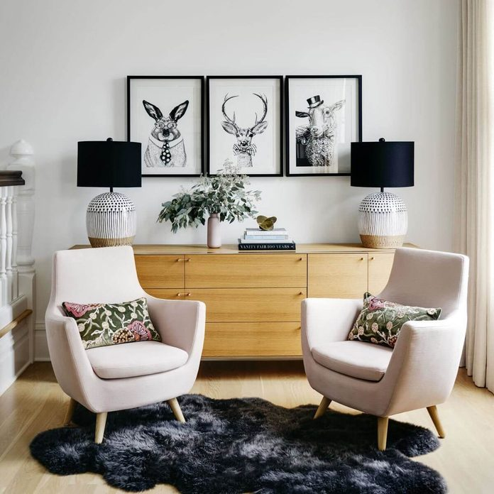 transitional style arm chairs