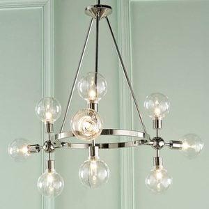 mid-century modern hanging light