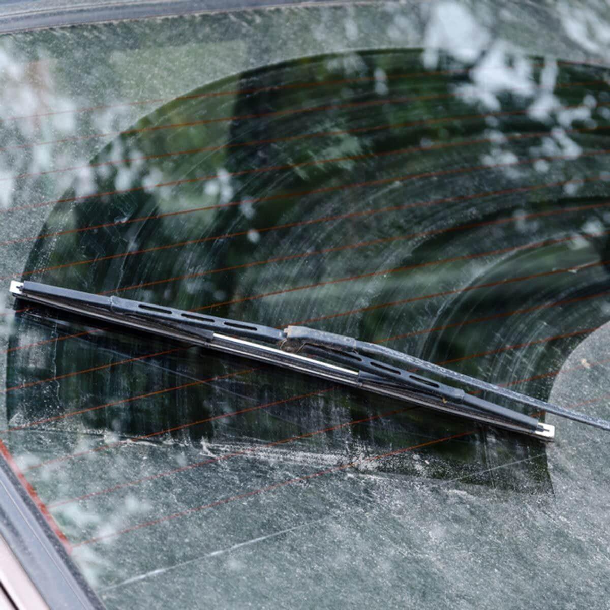 dirty windshield