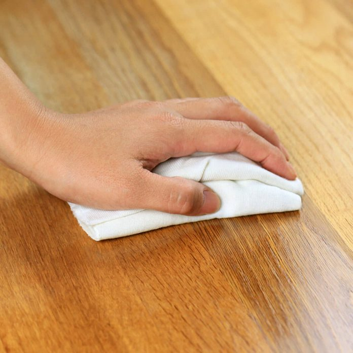dusting scratch repair wood counter