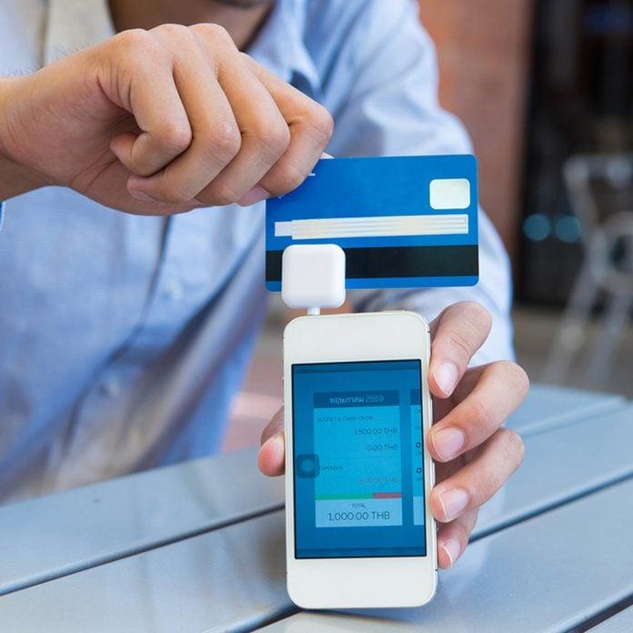 smartphone credit card reader