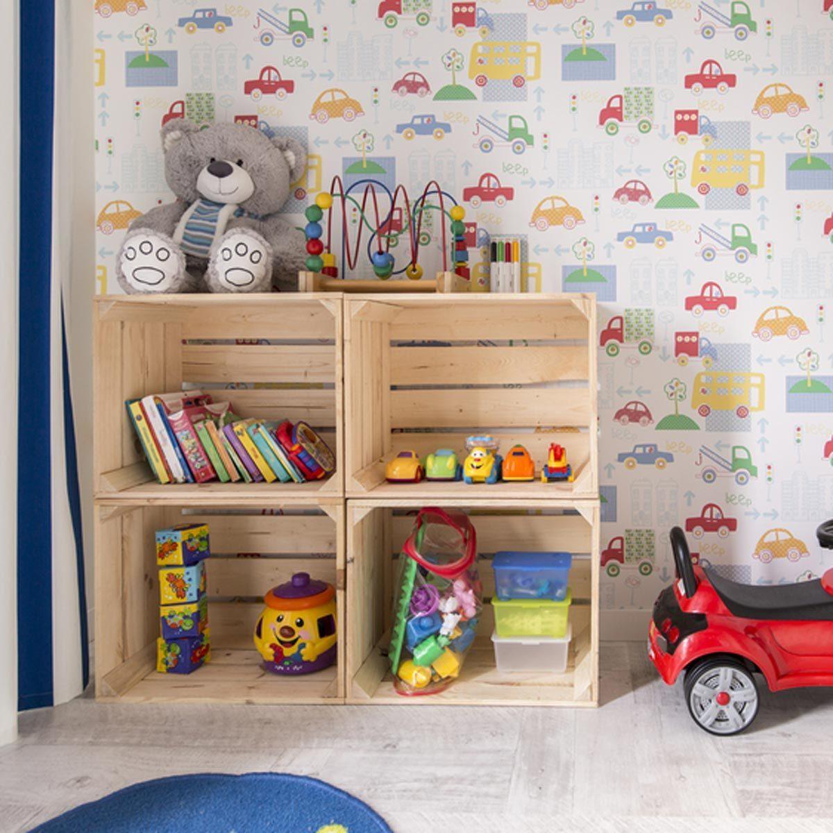 Pallet Wood Toy Storage