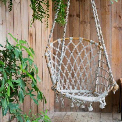 Chair Backyard Swing Boho