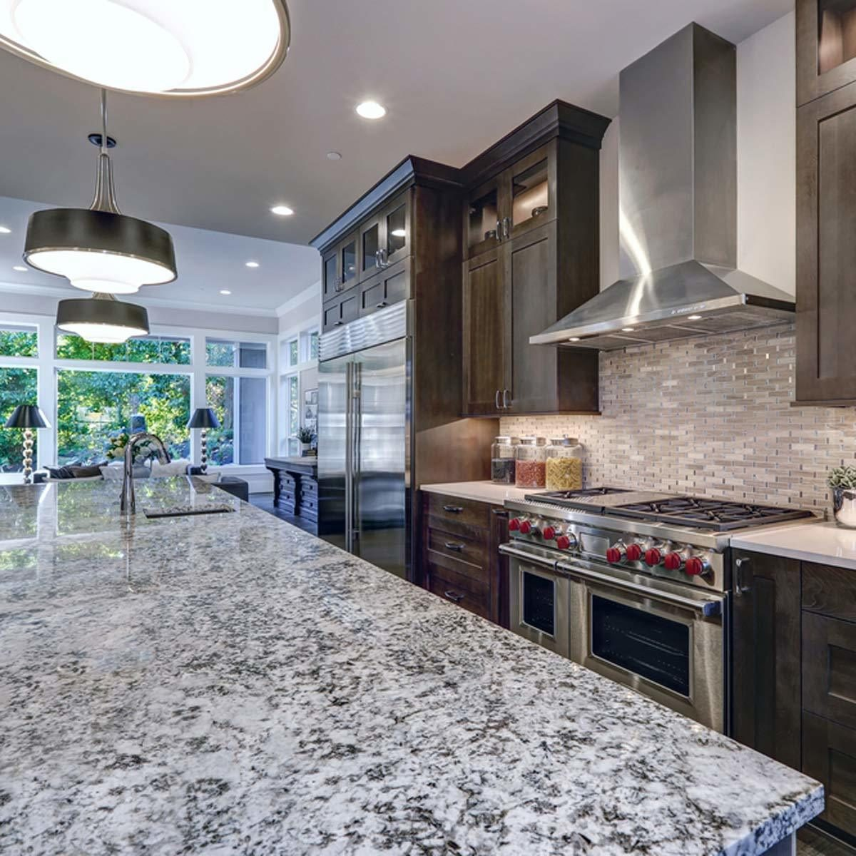 speckled granite countertops