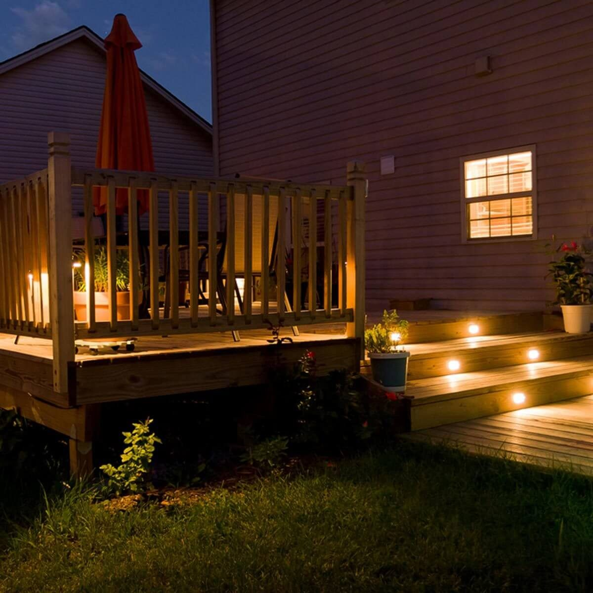 Covered Deck Lighting Ideas