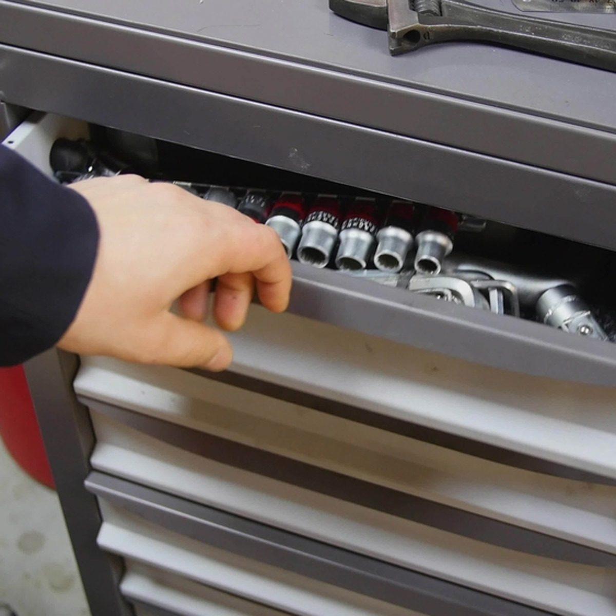 mechanics shop drawers