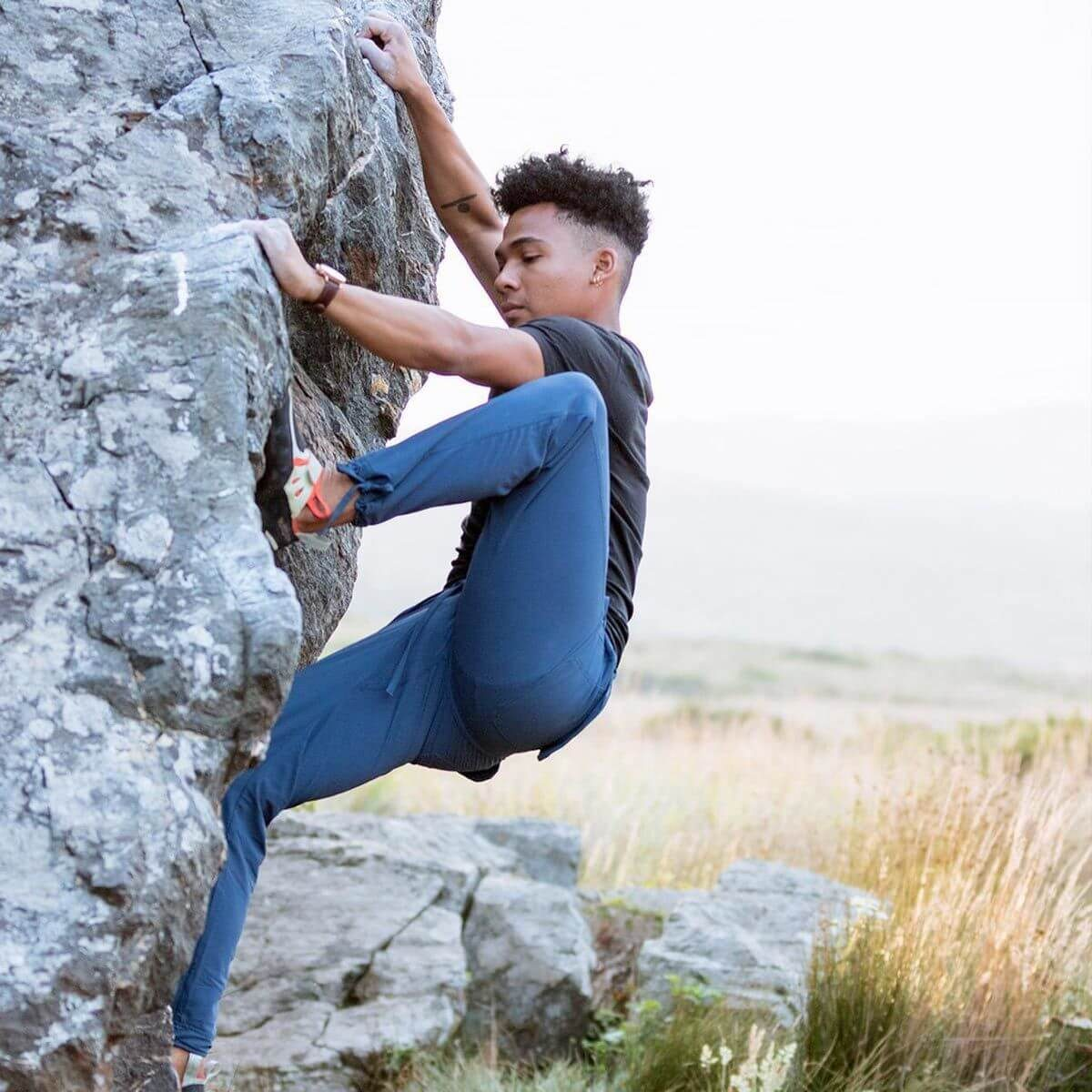 hiking pants rock climbing