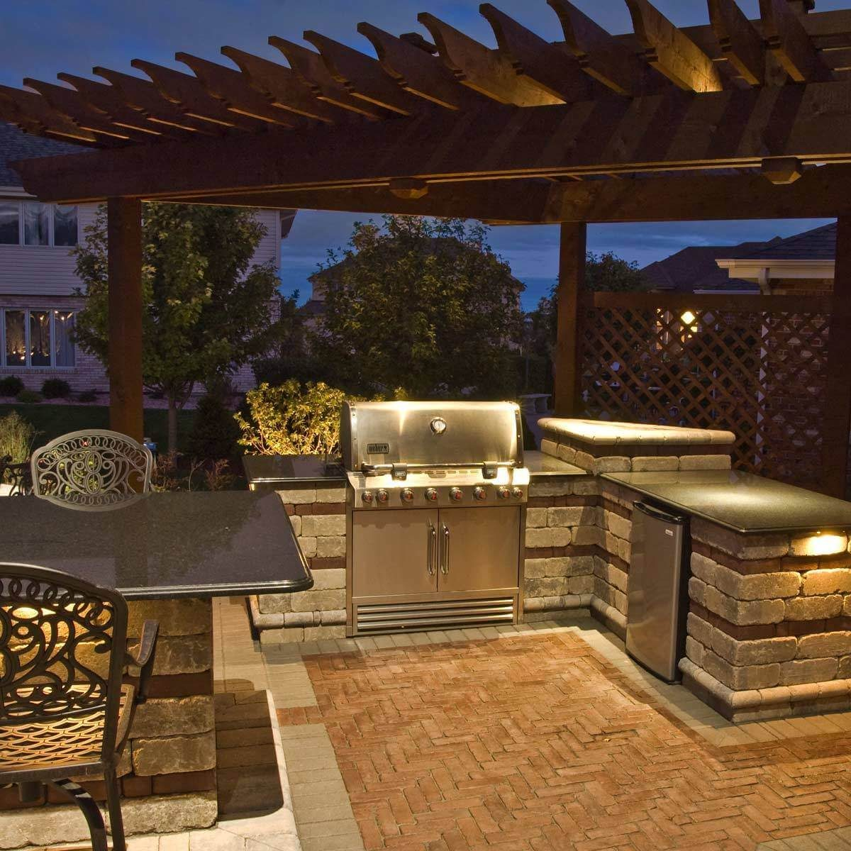 deck accent lighting. Backyard Kitchen Pergola Lighting Deck Accent G