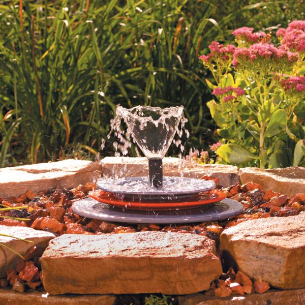 soothing fountain small spray pattern