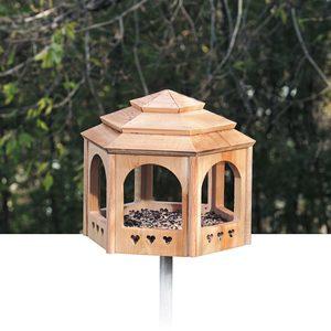 DIY Wooden Bird Feeder: A Gazebo for the Birds