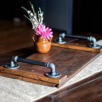 How to Make an Industrial Serving Tray