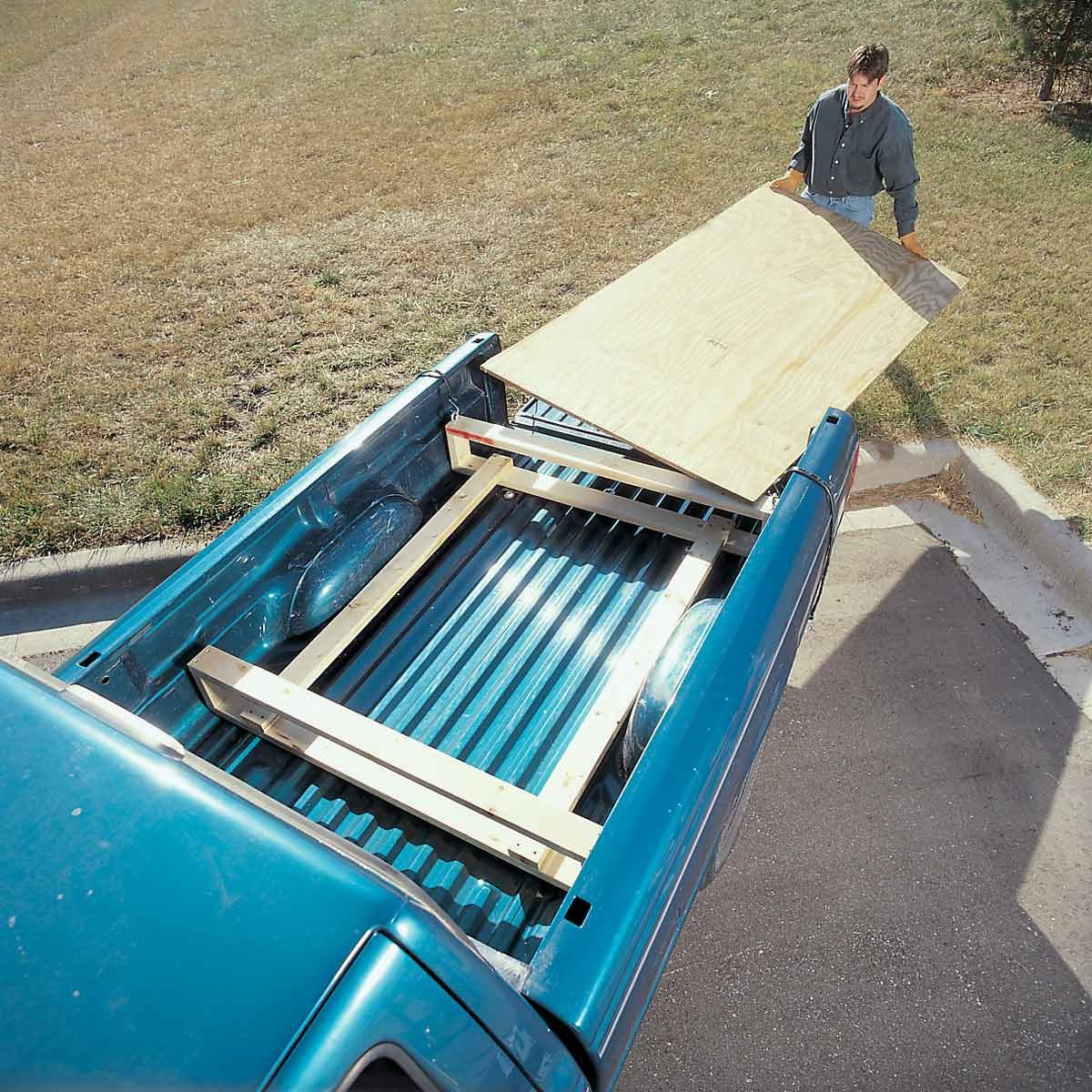 Plywood Carrier For Compact Trucks The Family Handyman