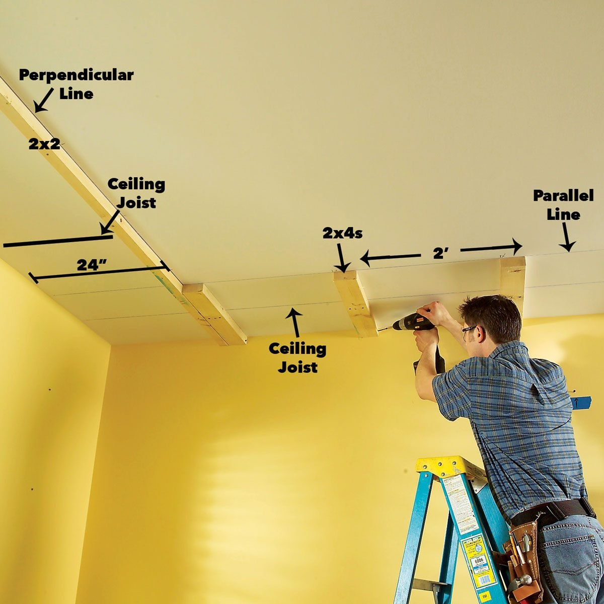 How To Build A Soffit Box With Recessed Lighting Diy