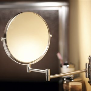 small pullout mirror