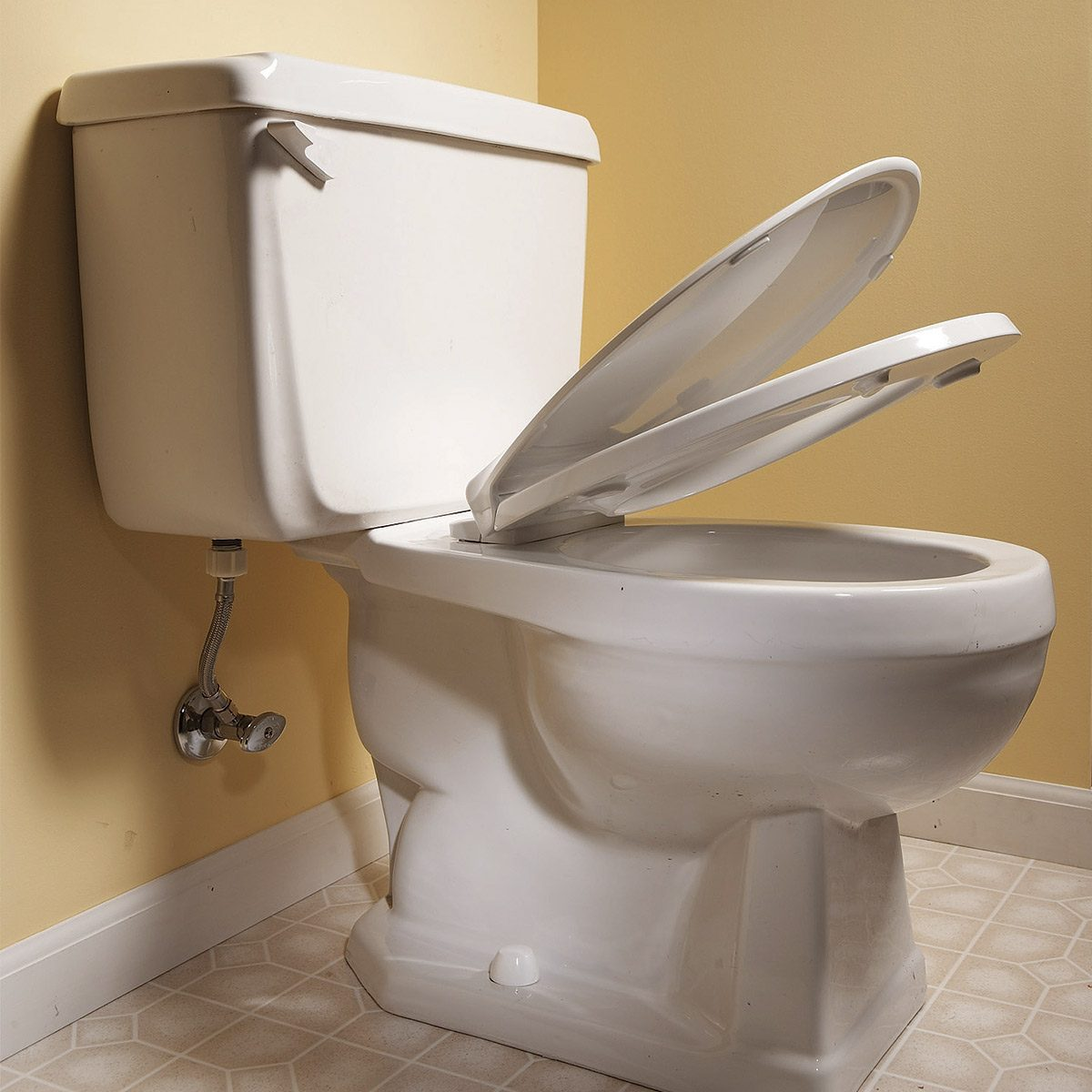 self-closing-toilet lid