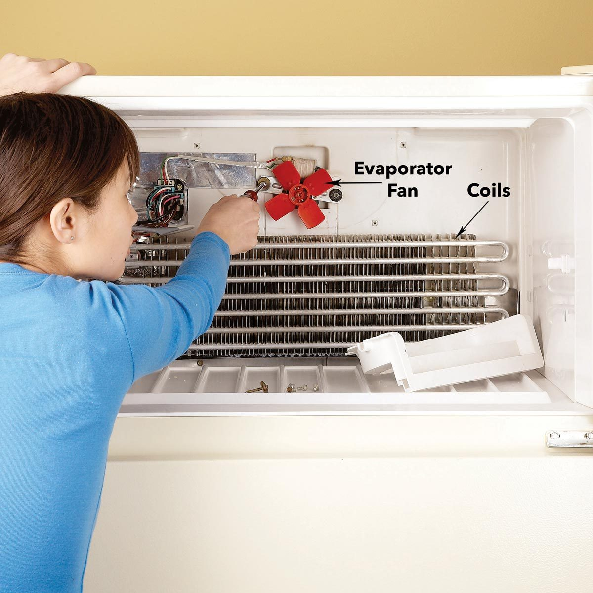 Refrigerator Not Cooling Fix Refrigerator Problems The