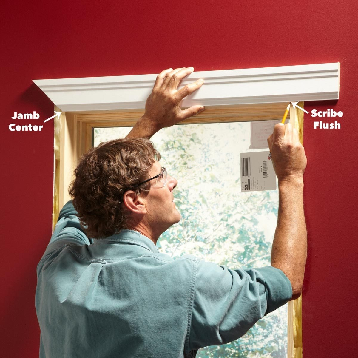 installing window molding