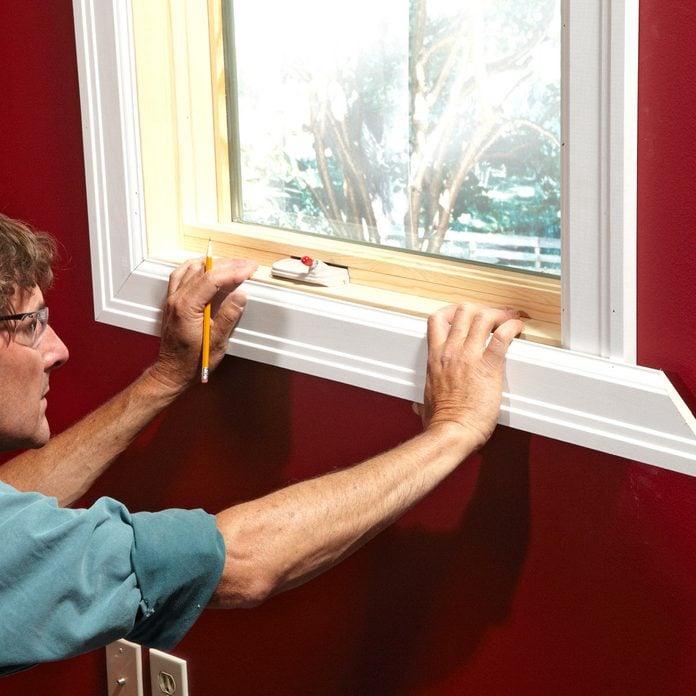 How To Install Window Frame Trim