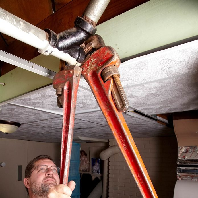 remove cleanout plug