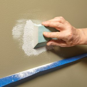 Simple Dust Catcher for Sanding Drywall