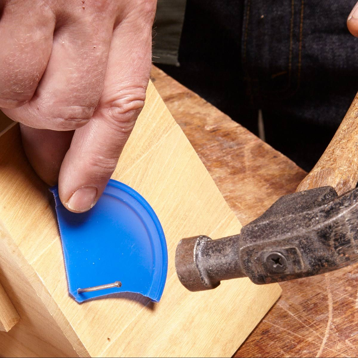a nail holder that will save your fingers | family handyman