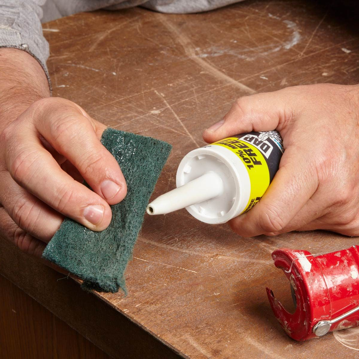 Drop ceiling tiles installation tips family handyman smoother caulk dailygadgetfo Images