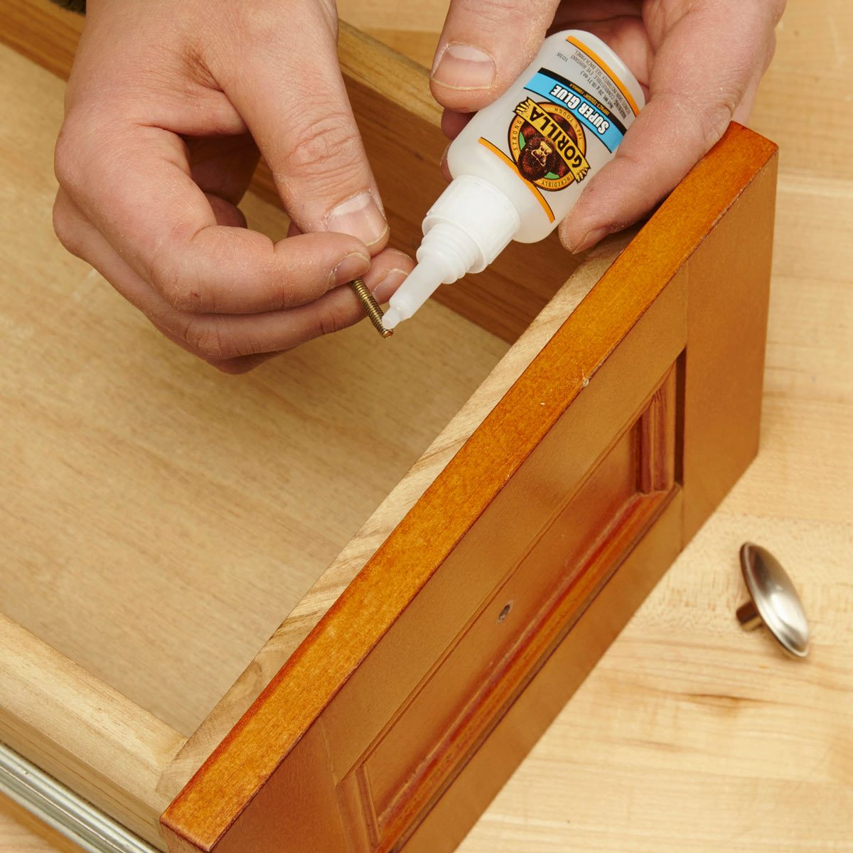 A Sure Fix For Loose Screws The Family Handyman