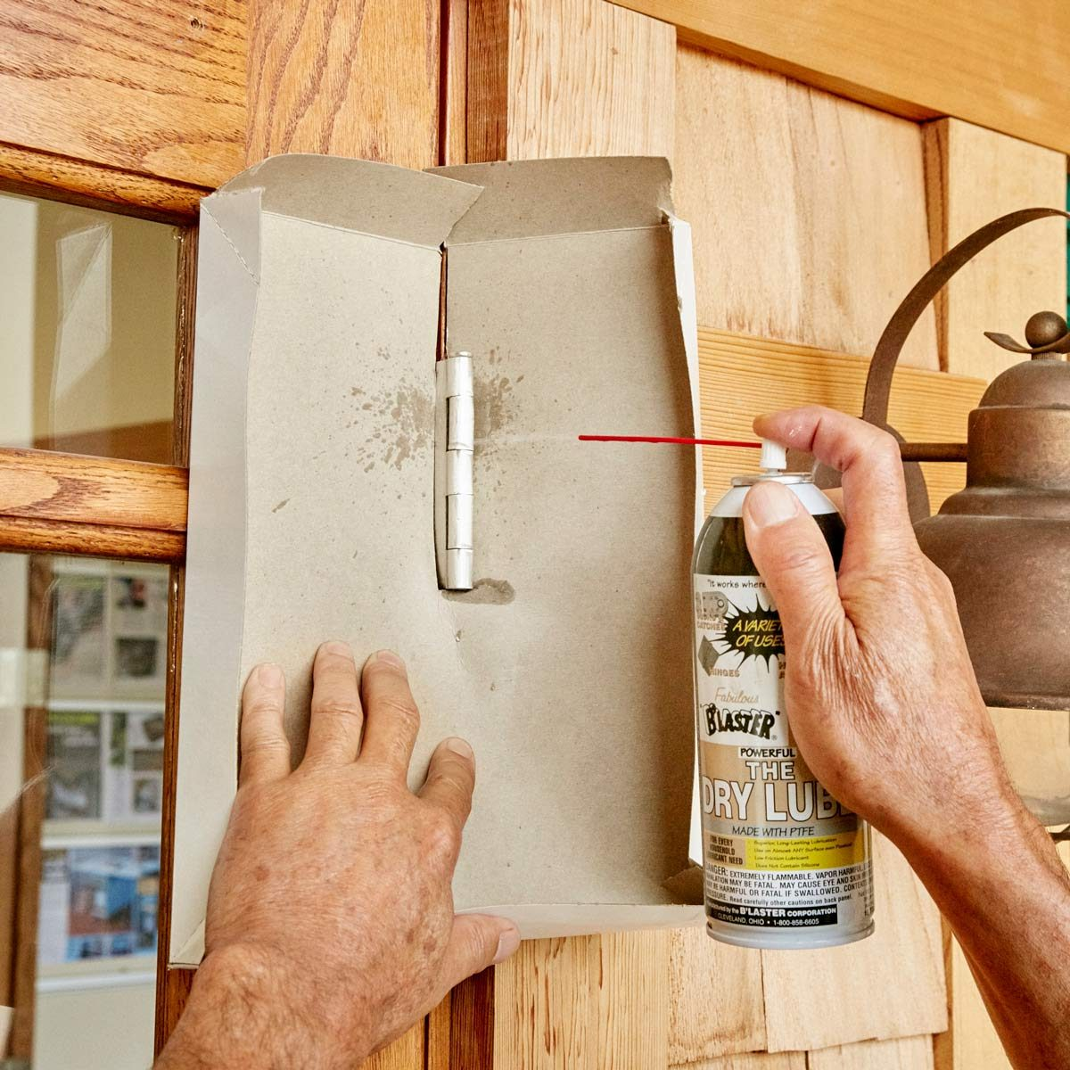 a squeaky clean hinge fix — the family handyman