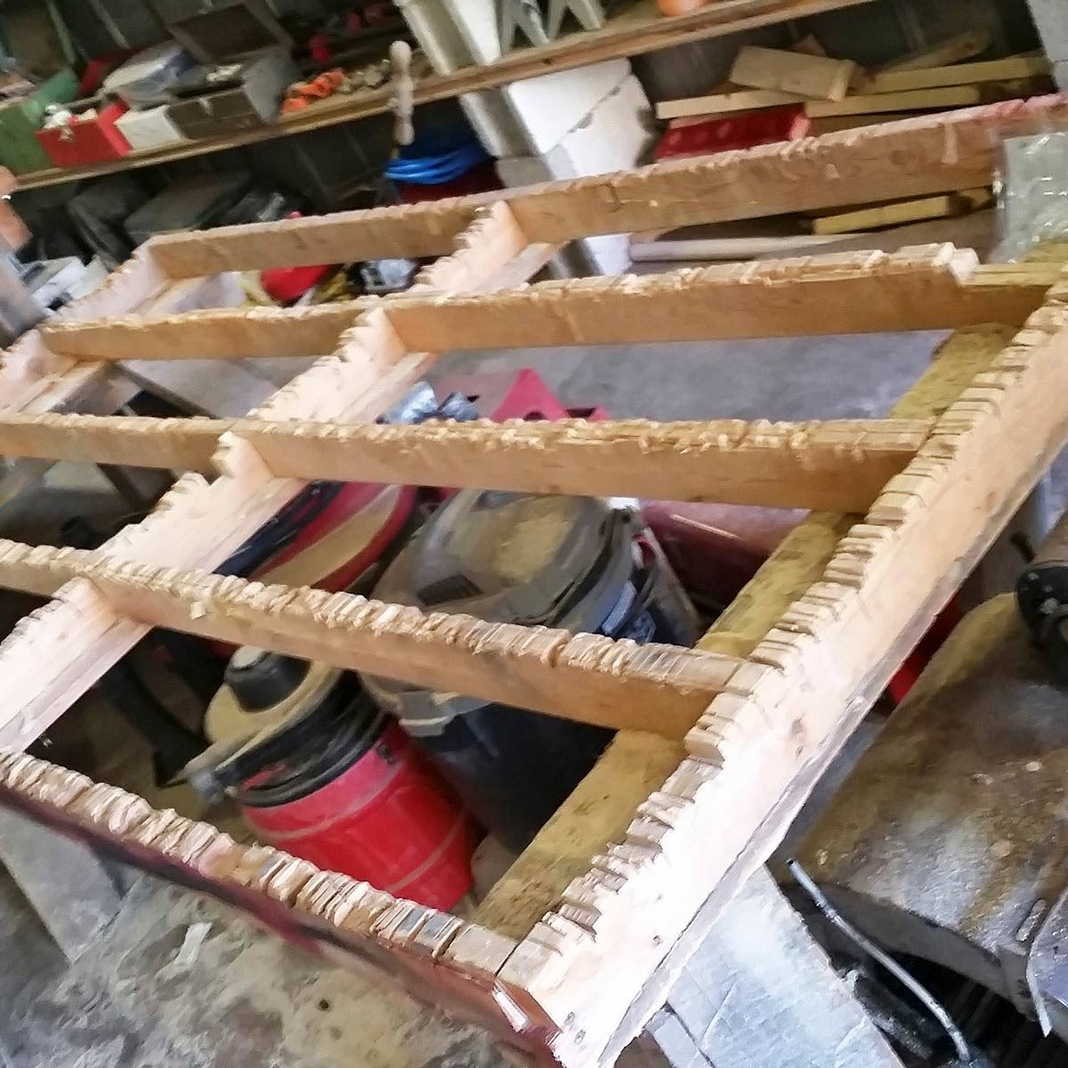 plywood cutting grid — tip from the family handyman