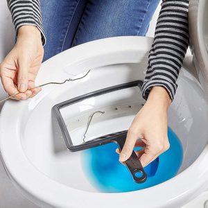 clean toilet rim jets