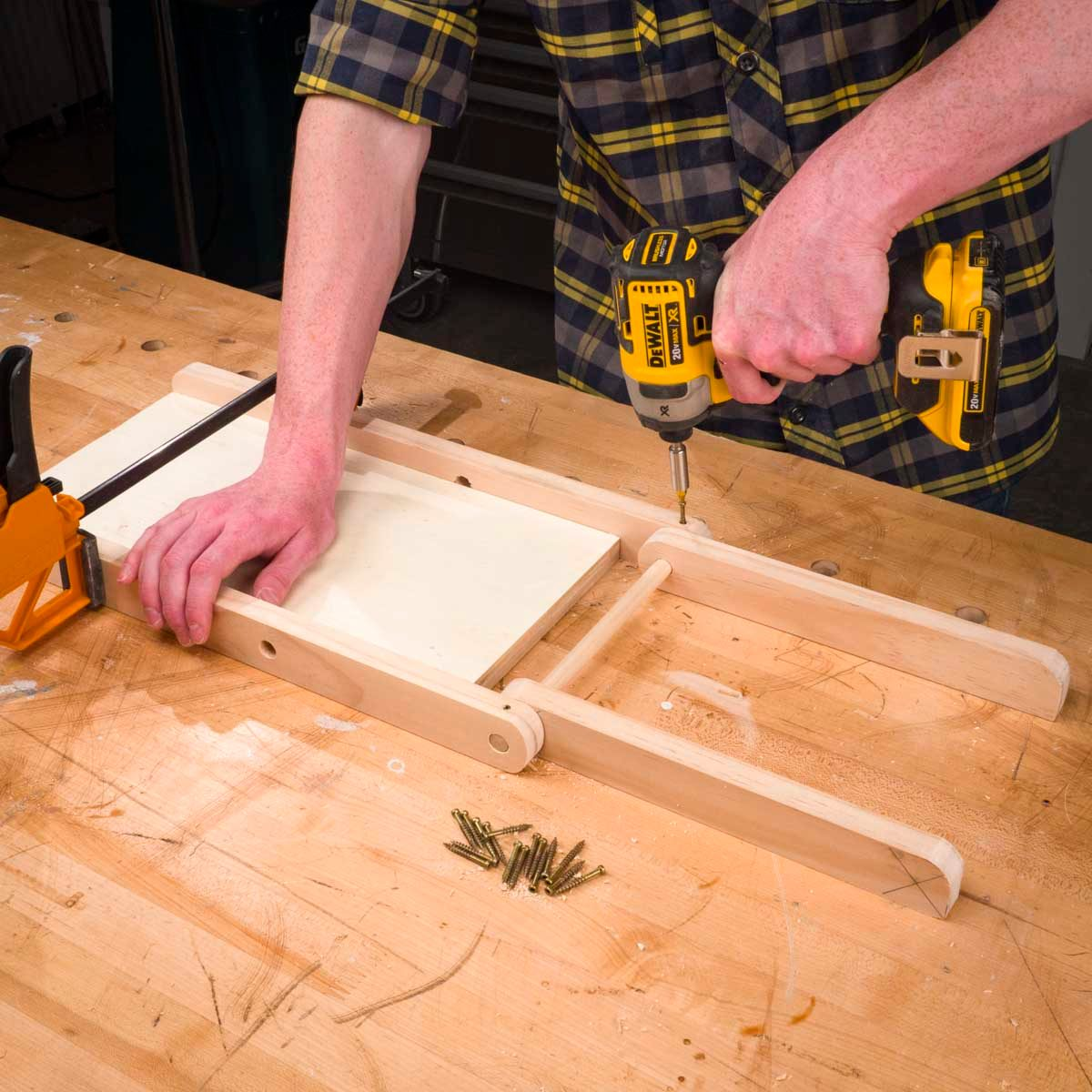 Saturday Morning Workshop How To Build A Folding Stool