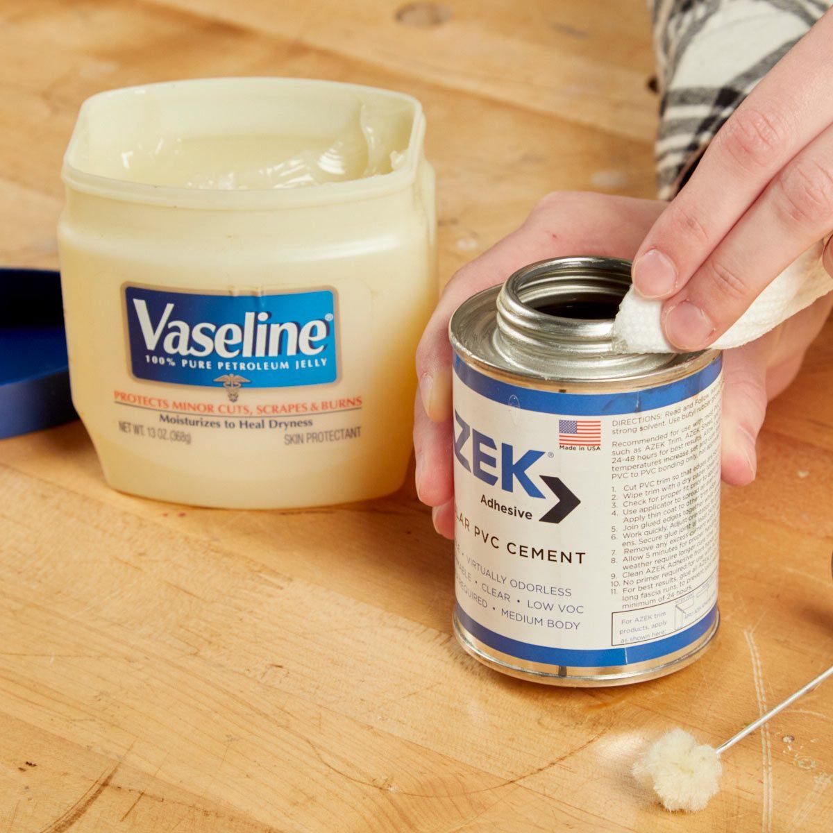 HH vaseline glue lid