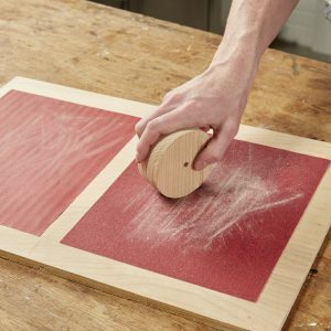 Sanding Station For Small Parts