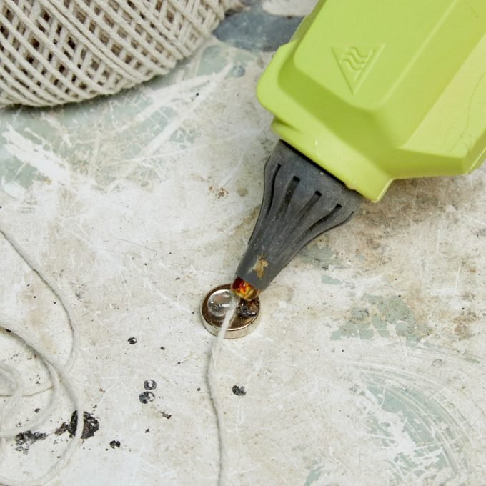 HH retrieve items dropped down drain with magnet and string