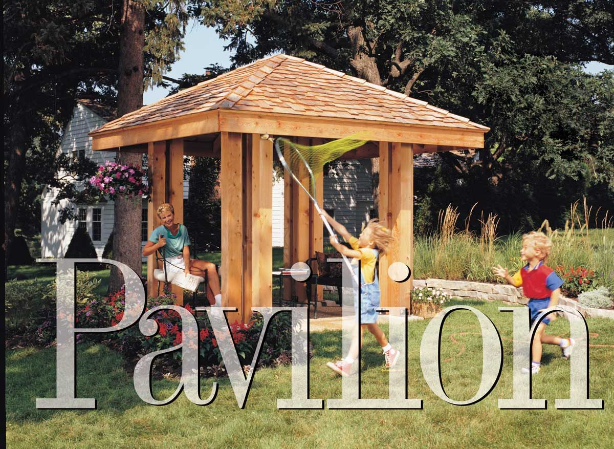 How To Build A Post And Beam Pavilion The Family Handyman