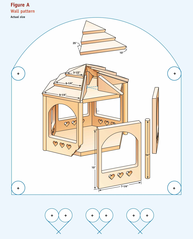 Build a Gazebo for the Birds — The