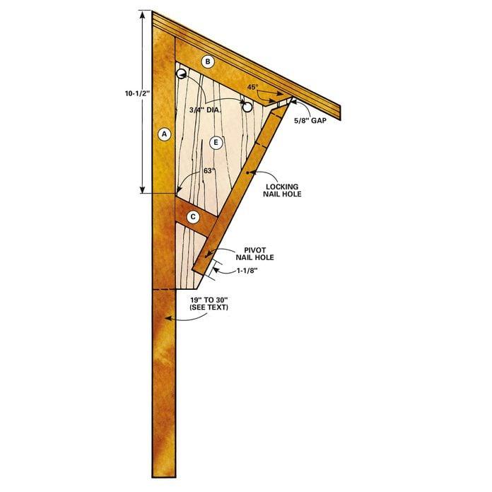 bluebird house birdhouse step 2