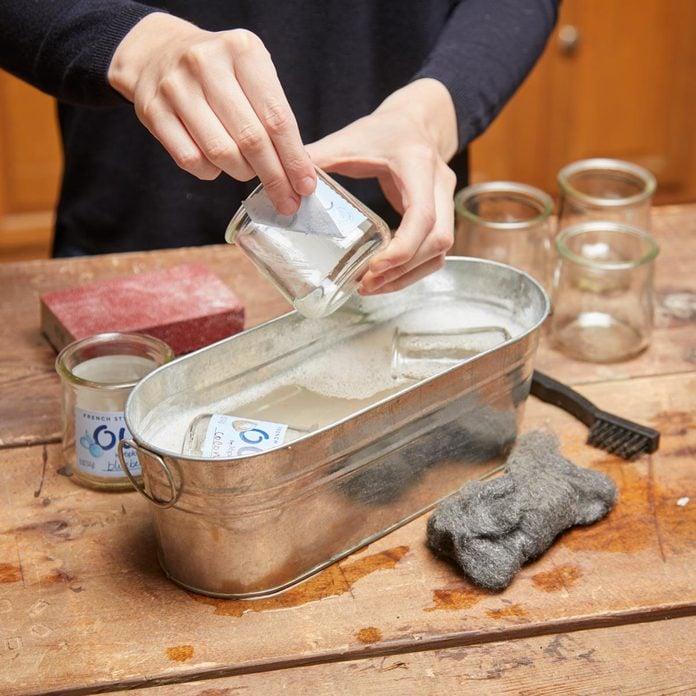 clean glass oui yogurt jars