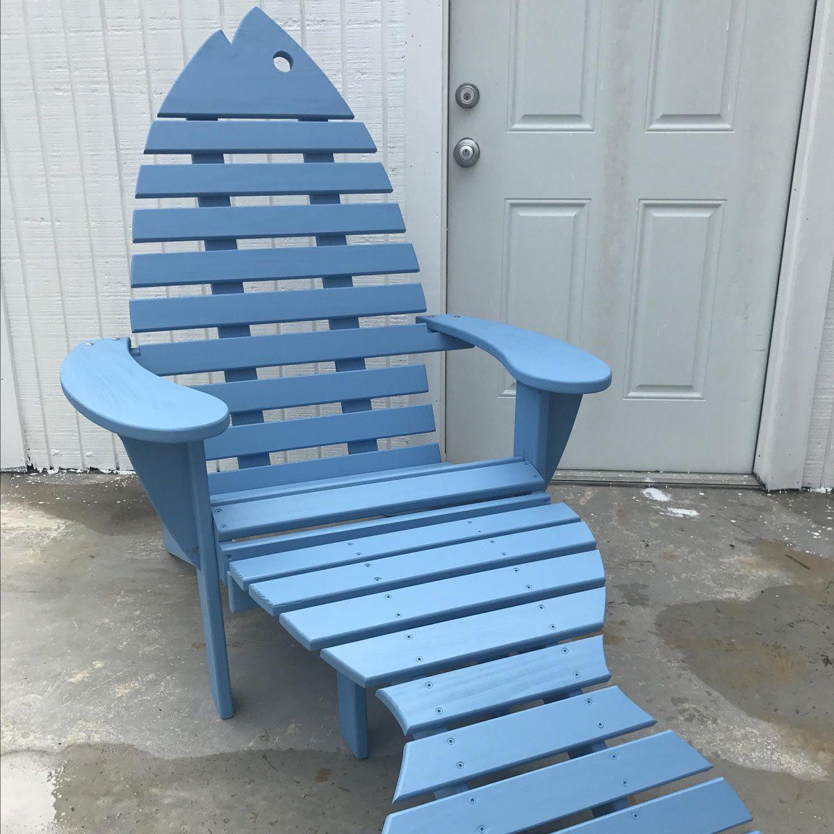 fish adirondack chair
