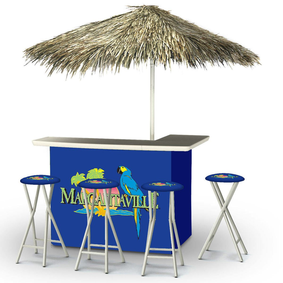 portable margaritiaville tiki bar