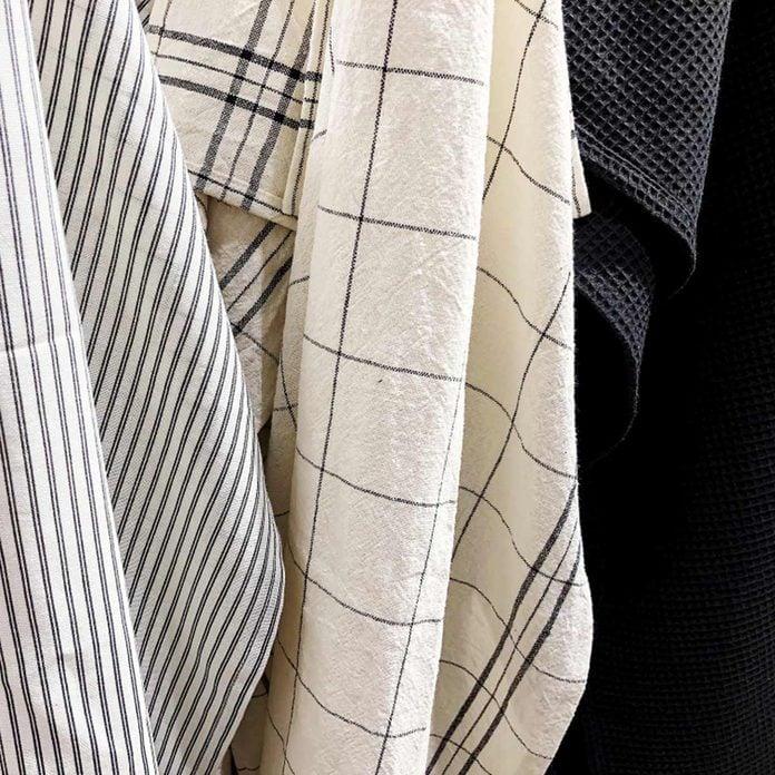 linens dish clothes