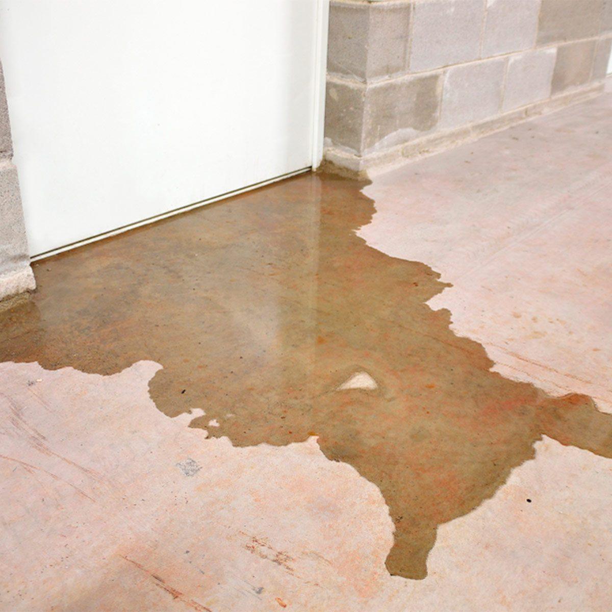 wet basement flooding