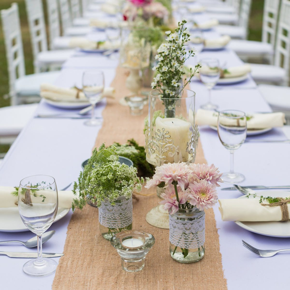 20 DIY Outdoor Wedding Decorations: DIY Wedding Decorations