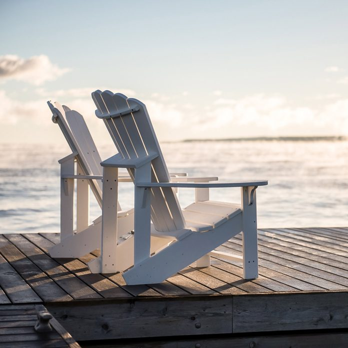 adirondack chairs sunset double adirondack chair plans