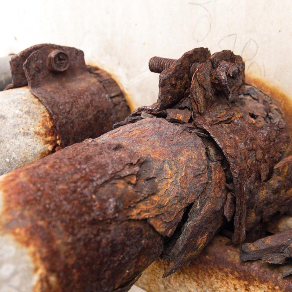rust rusty pipe