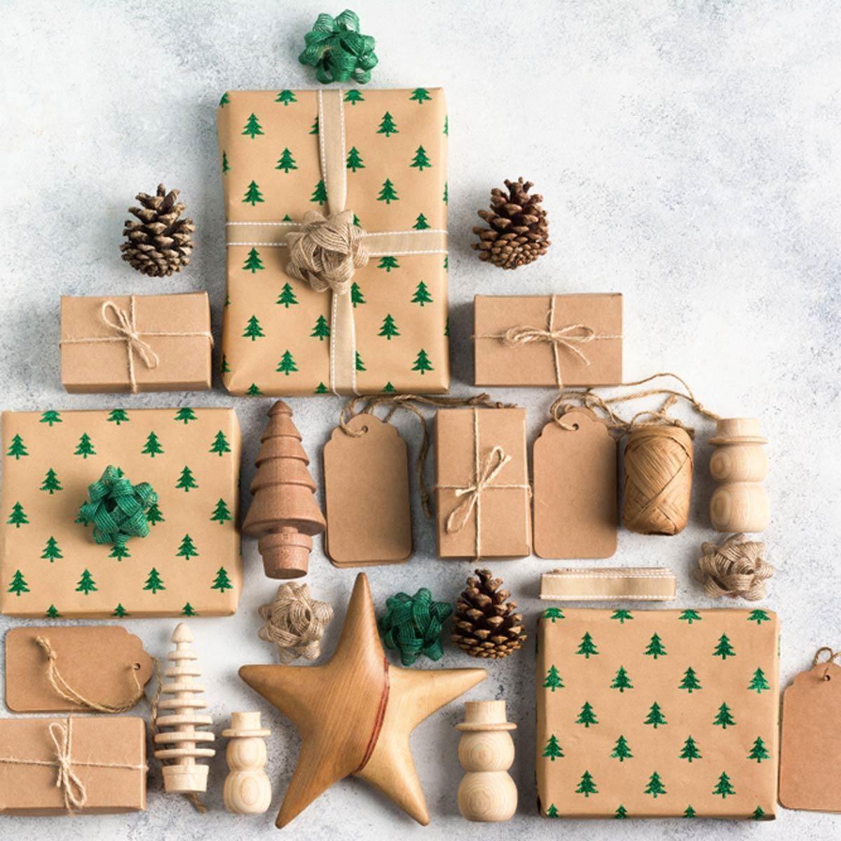 cardboard christmas presents
