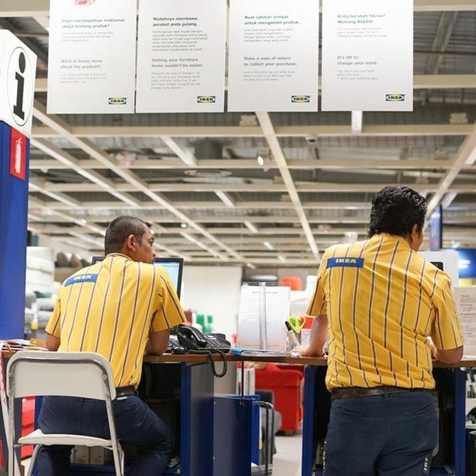 Ikea employees