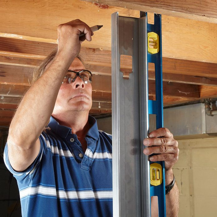 Locate the top plate with a stud | Construction Pro Tips
